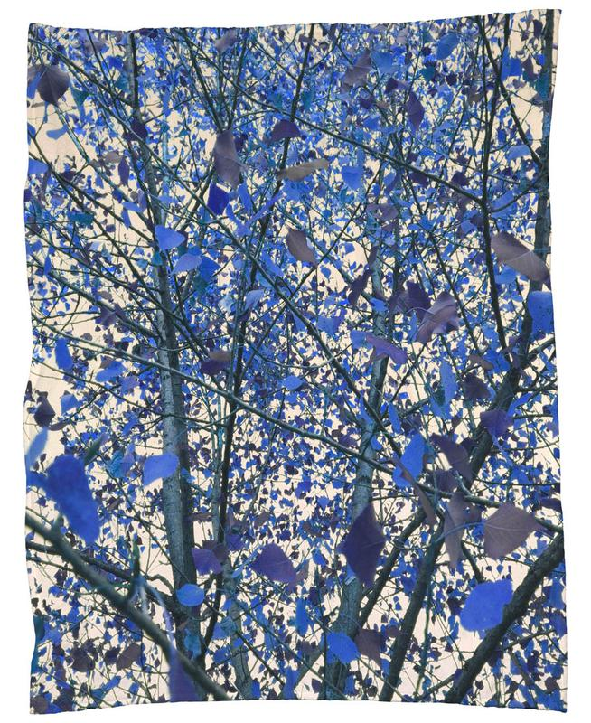 Blue November Fleece Blanket