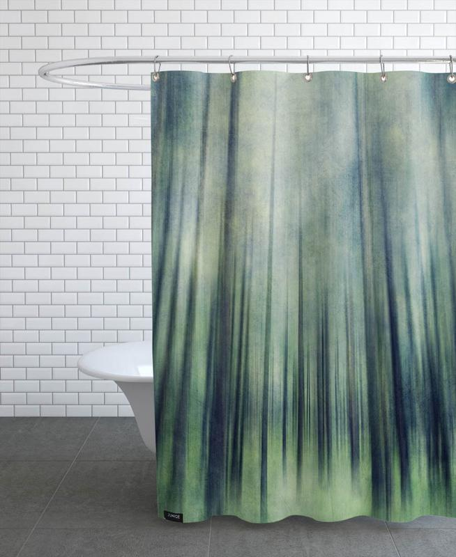 Forests, Green Woods Ascent Shower Curtain