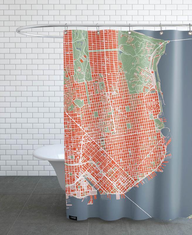San Francisco, San Francisco - Classic Shower Curtain