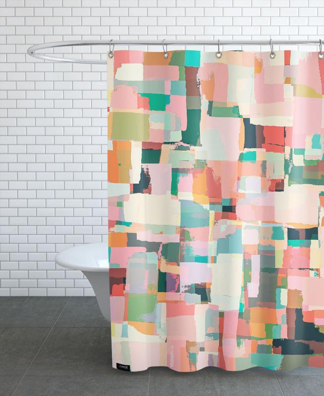 Abstract Painting No.9 Shower Curtain