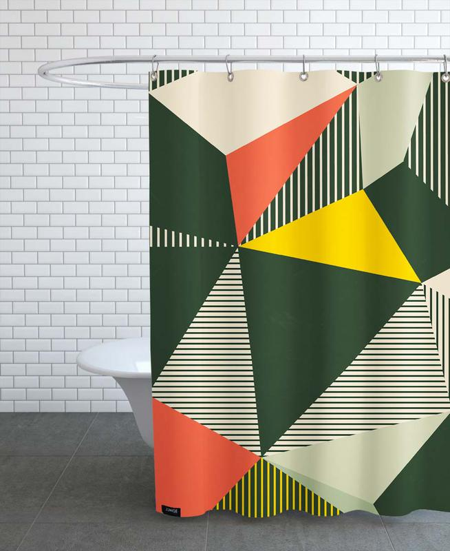 Bauhaus Shower Curtain