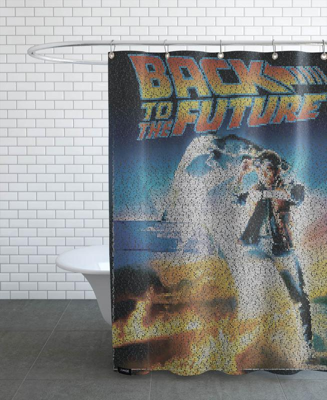 Back To The Future Shower Curtain