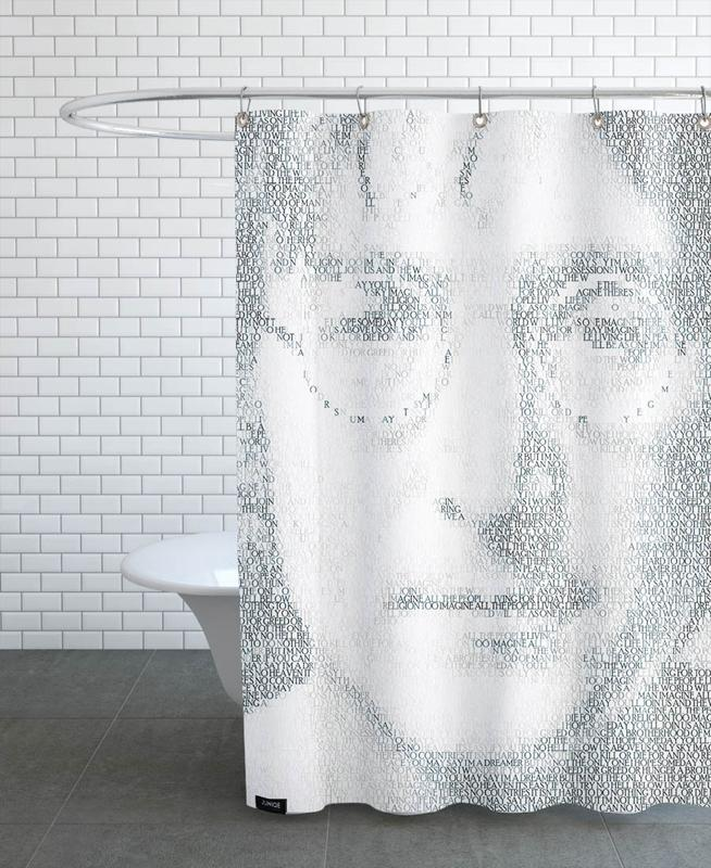 Imagine -Duschvorhang