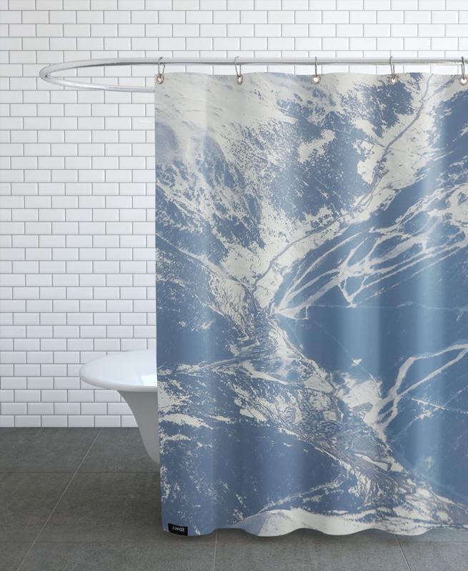 Mountains, DJJU15_0026 Shower Curtain