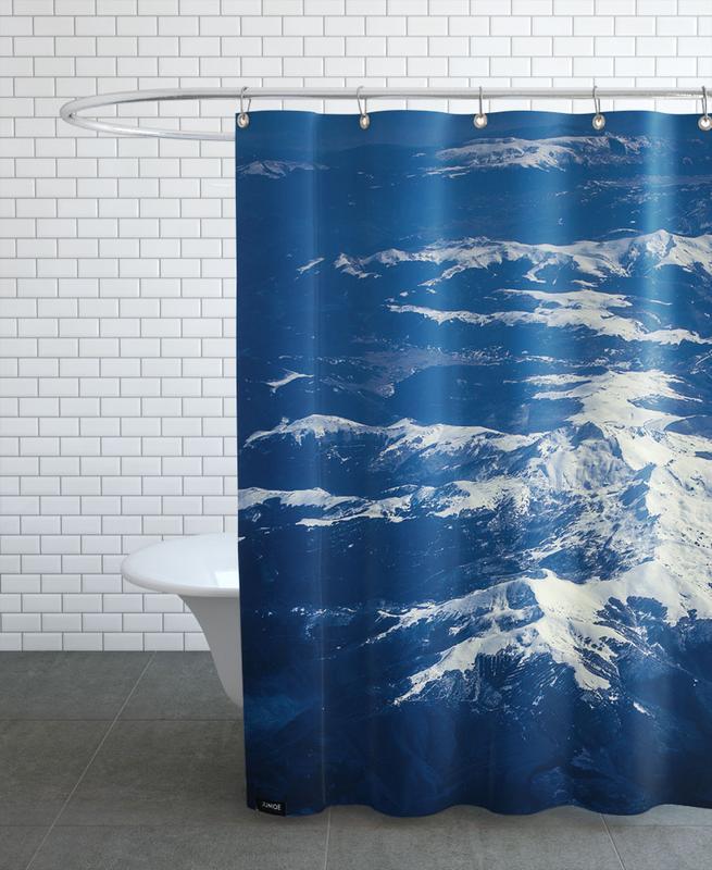 Mountains, DJJU15_0031 Shower Curtain