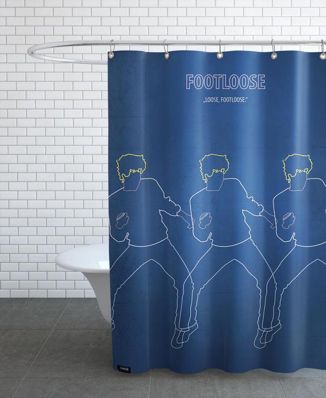 Footloose Shower Curtain