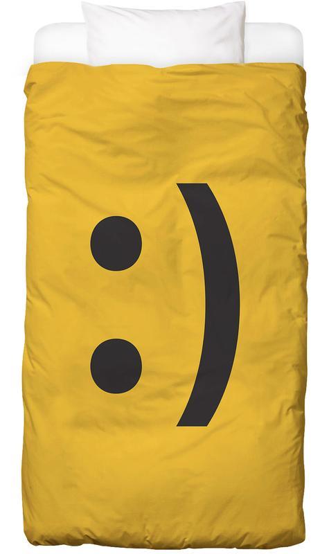 Smiley -Kinderbettwäsche