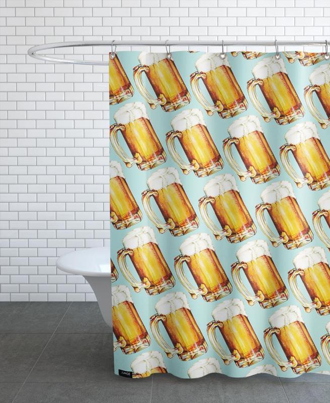 Beer Pattern -Duschvorhang