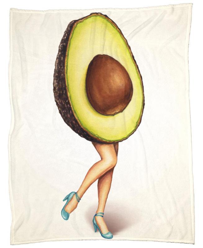 Fruit Stand - Avocado plaid