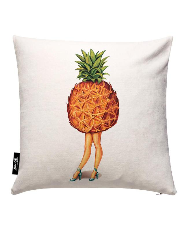 Fruit Stand - Pineapple Cushion Cover