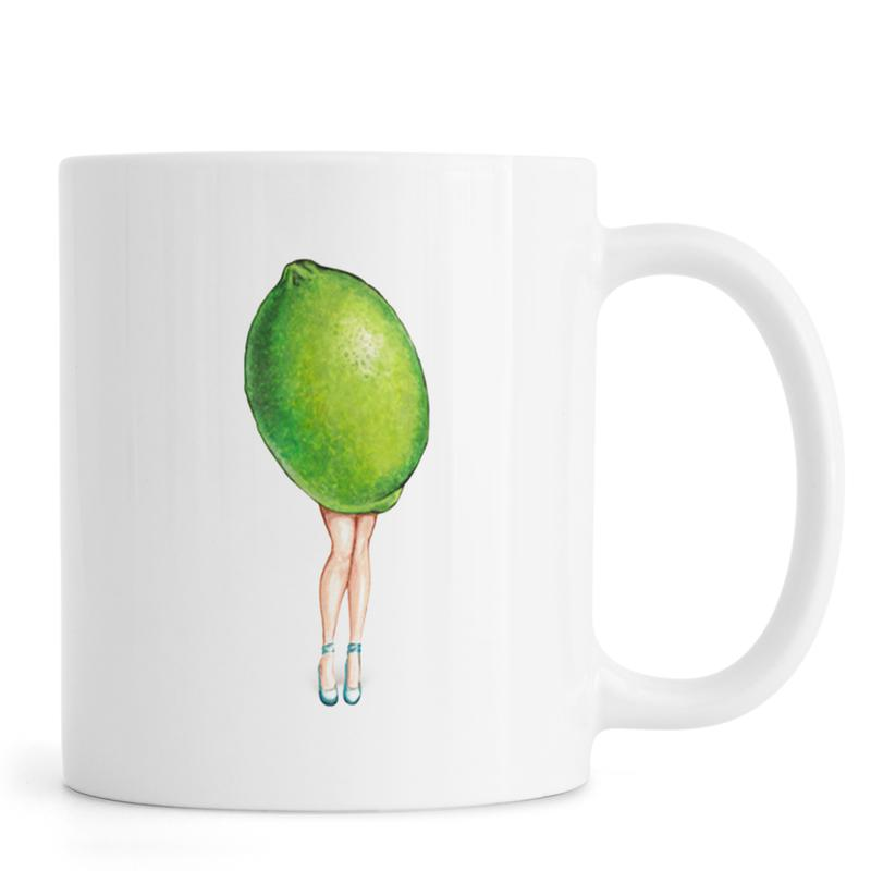 Fruit Girls Lime Mug