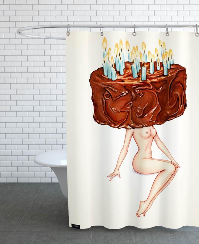 Birthday Suit -Duschvorhang