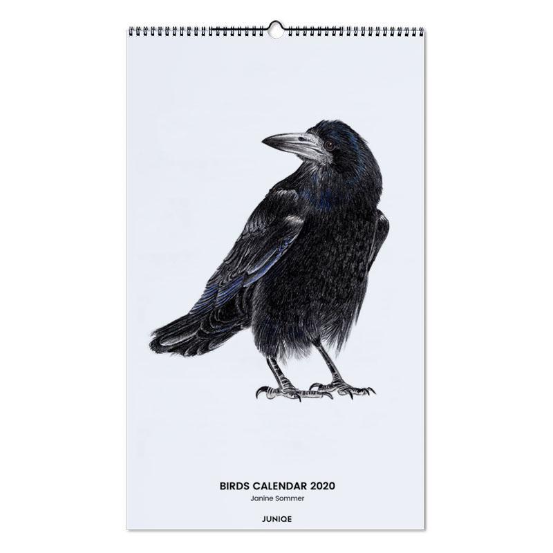 Birds Calendar 2020 - Janine Sommer Wall Calendar