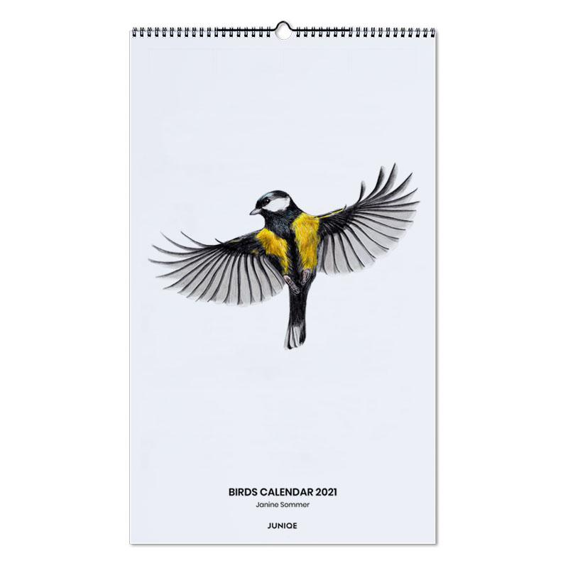 , Birds Calendar 2021- Janine Sommer wandkalender