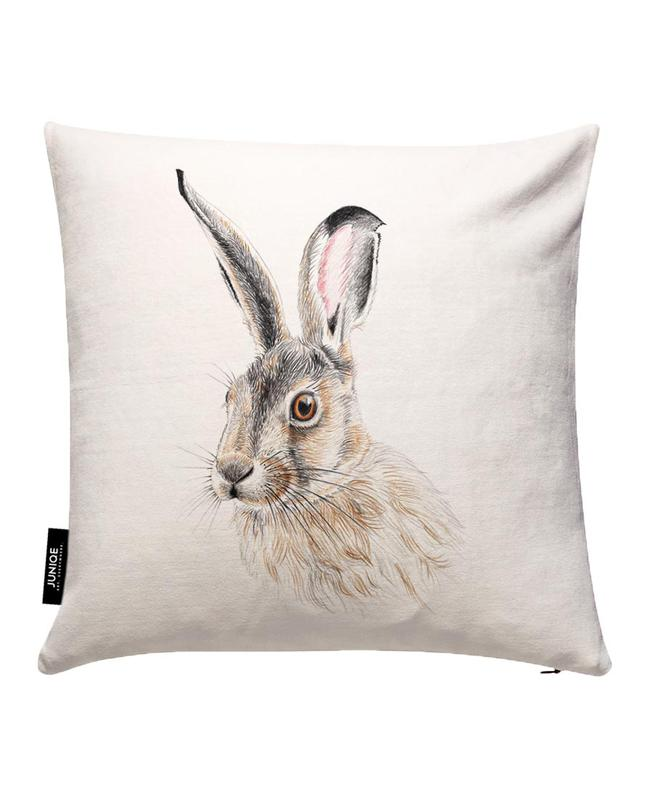 Rabbit Cushion Cover