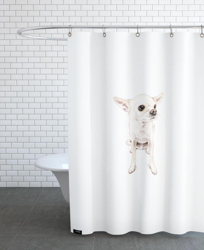 Chiens, Pepe rideau de douche