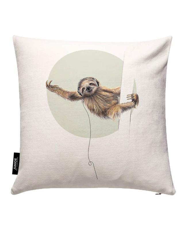 Sloth Cushion Cover
