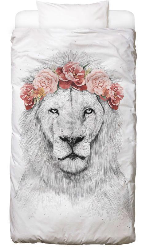 Löwen, Festival Lion Bettwäsche