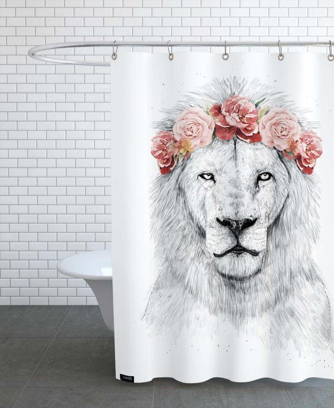 Löwen, Festival Lion -Duschvorhang
