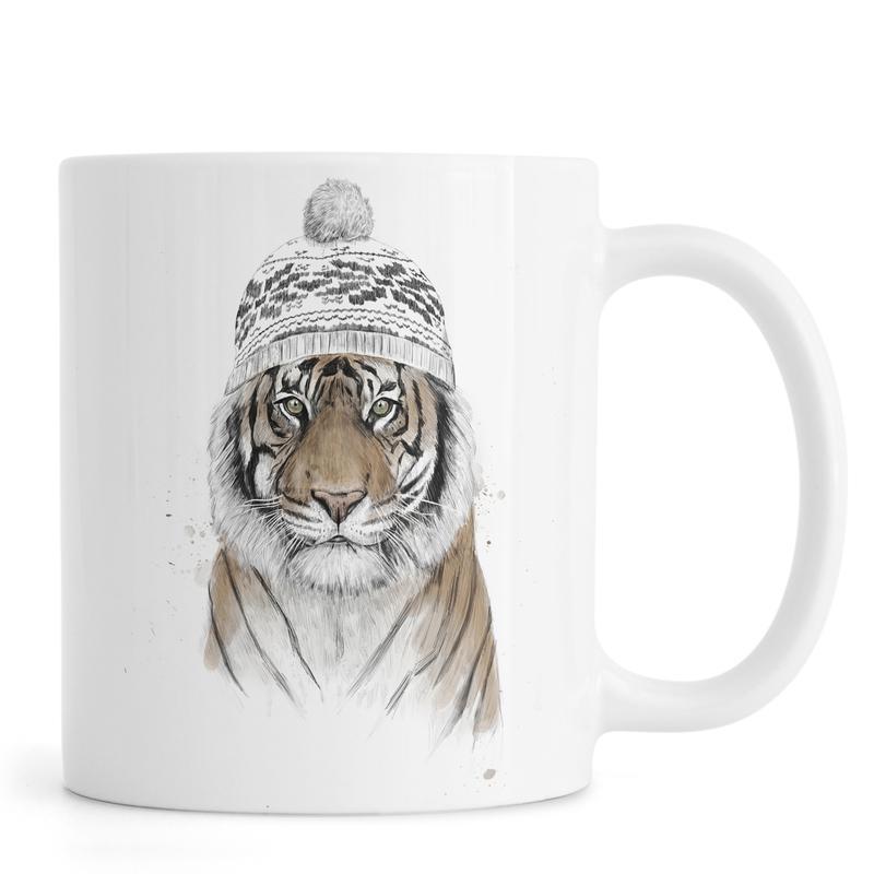 Siberian Tiger -Tasse