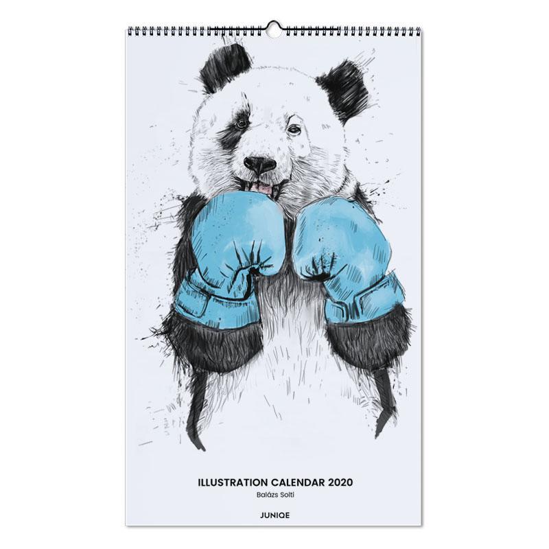 Illustration Calendar 2020 - Balázs Solti calendrier mural