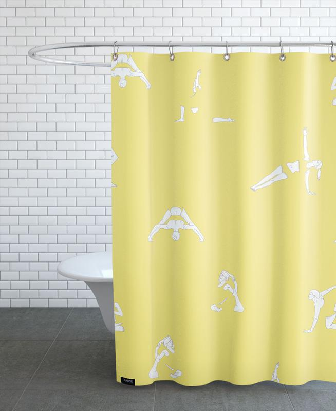 Yoga Practice 14 Shower Curtain
