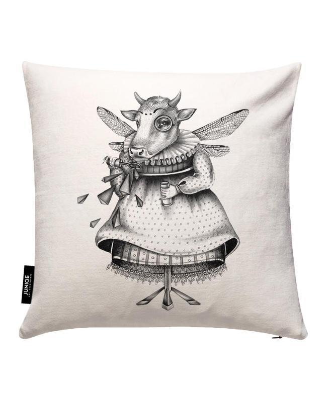 Cow Cushion Cover