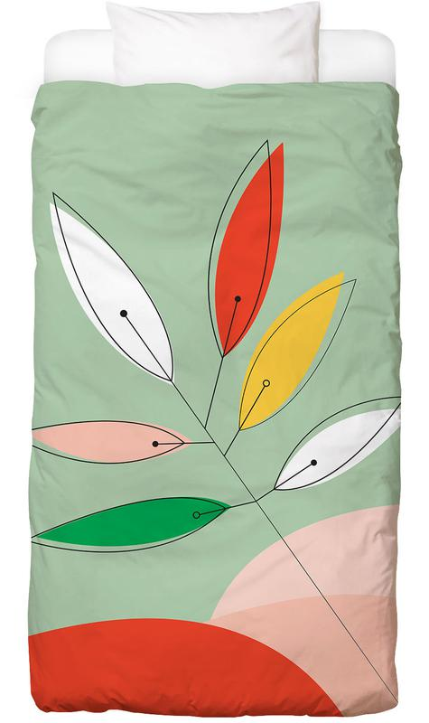 Bladeren en planten, Colorful Twig Dekbedovertrekset