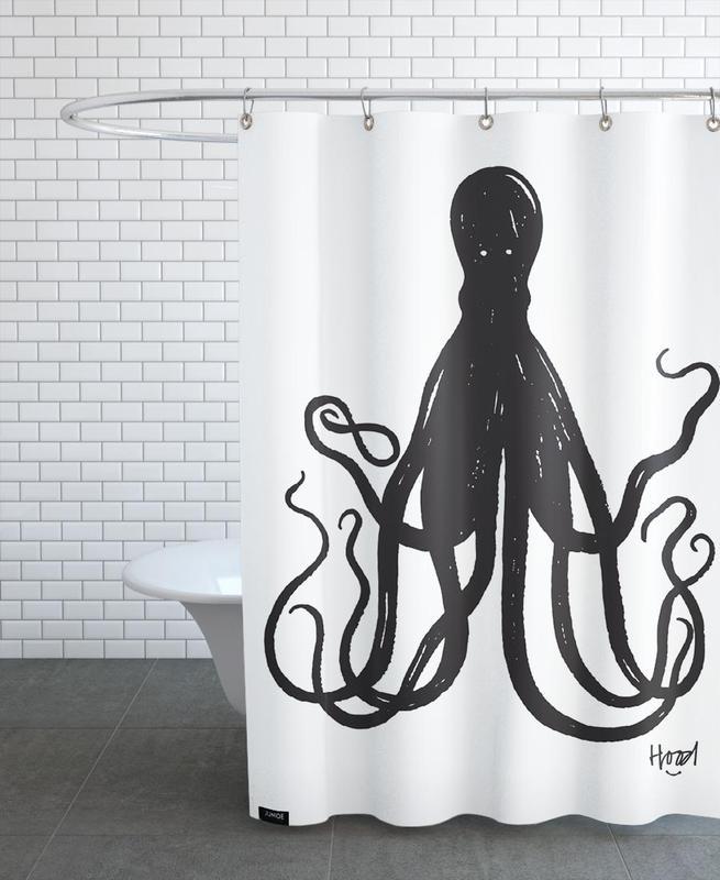 Octuple rideau de douche