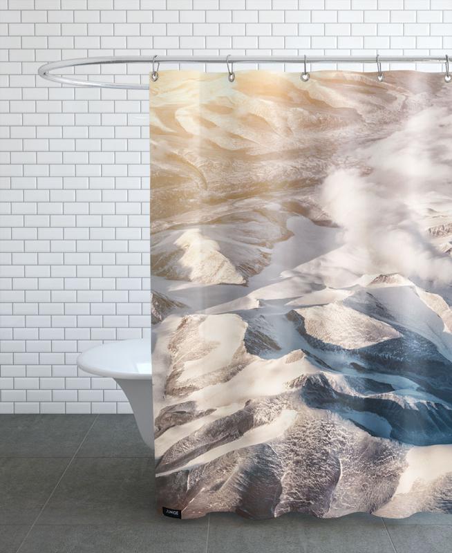 Raw 6 Nanortalik Greenland Shower Curtain
