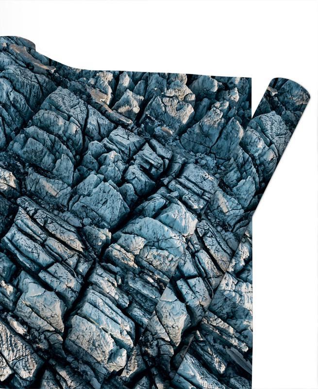 Berge, Raw 8 Mýrdalsjökull Iceland -Geschenkpapier