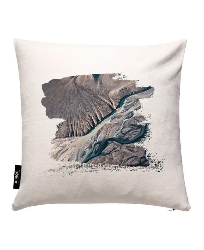 Raw 8 Núpsvötn Iceland Cushion Cover