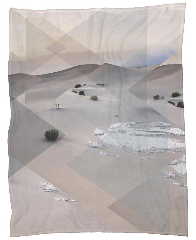 Scattered 3 Death Valley Fleece Blanket