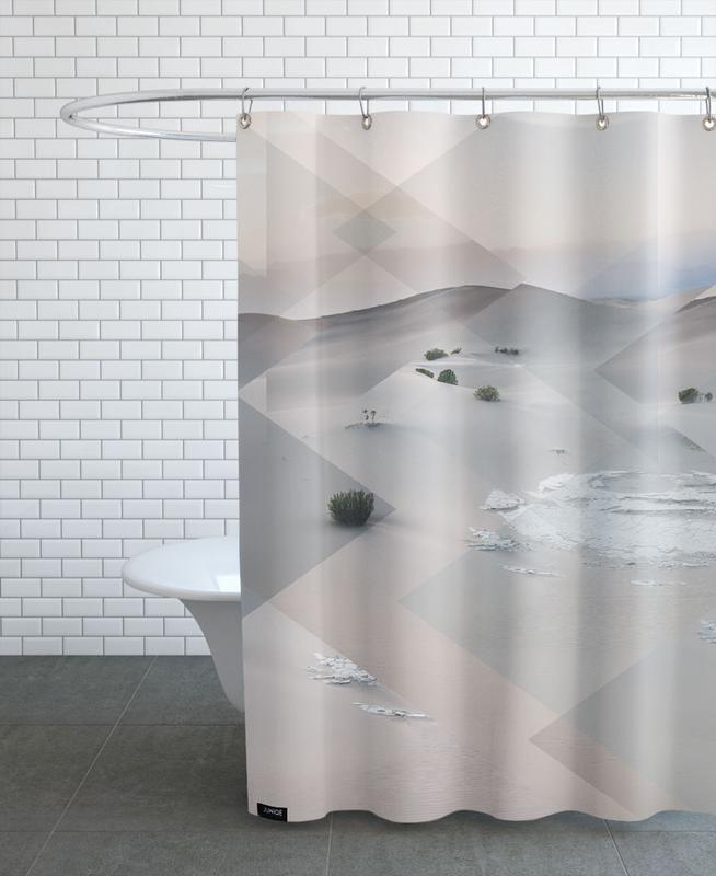 Scattered 3 Death Valley Shower Curtain