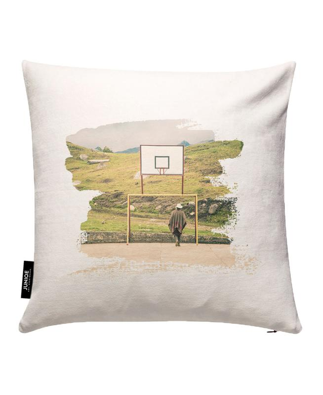 Streetball Courts 2 El Cocuy Colombia Cushion Cover