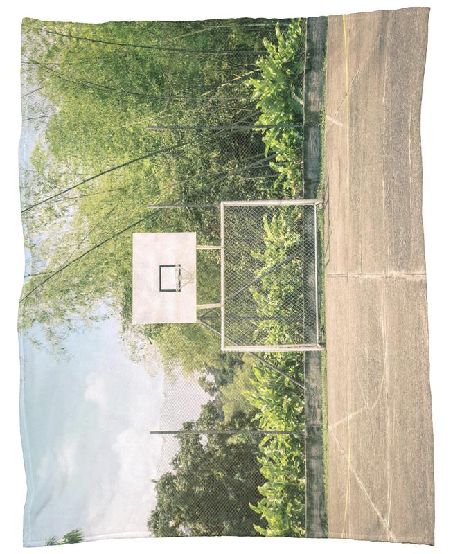 Streetball Courts 2 Manizales Colombia Fleece Blanket