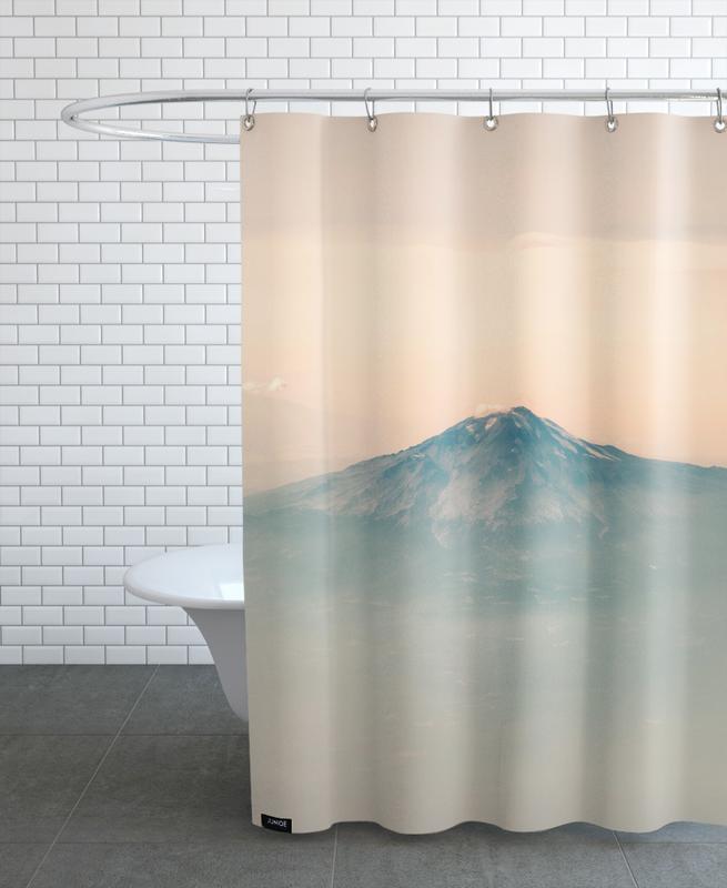 Mountains, Raw 7 Wyoming (USA) Shower Curtain
