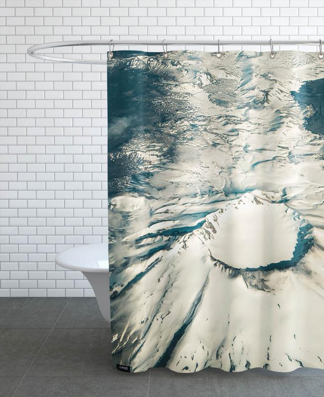 Mountains, Raw 1 Villarrica Chile Shower Curtain