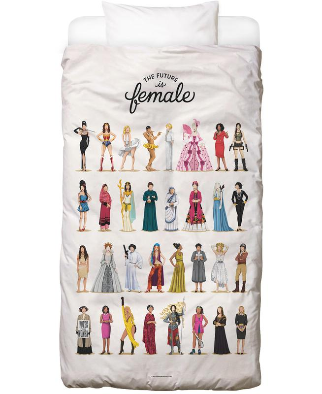 The Future Is Female Kids' Bedding