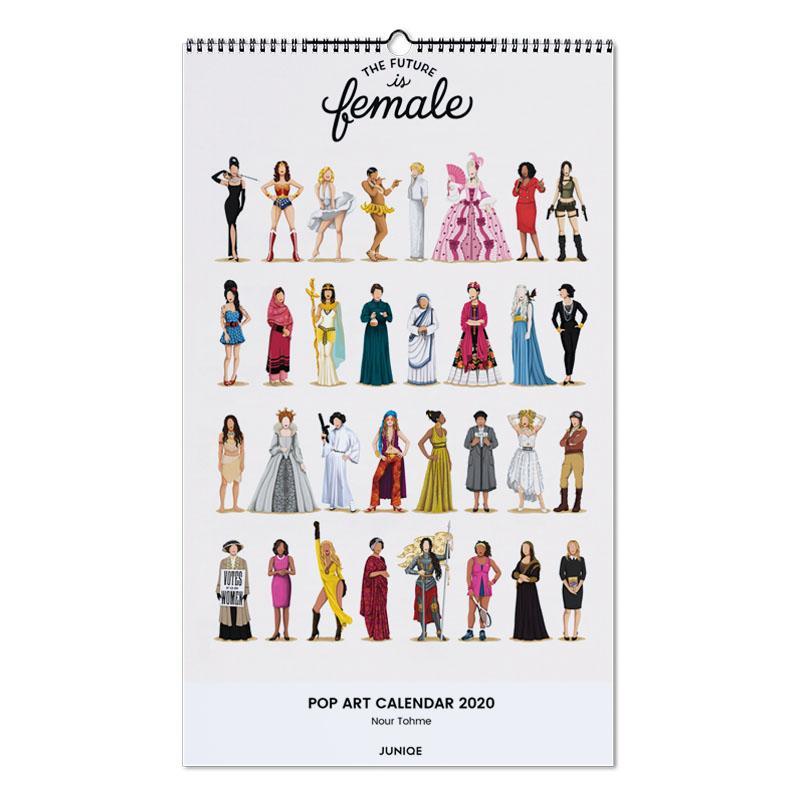 Pop Art Calendar 2020 - Nour Tohme calendrier mural