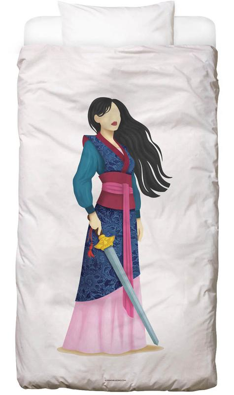 Porträts, Mulan -Kinderbettwäsche