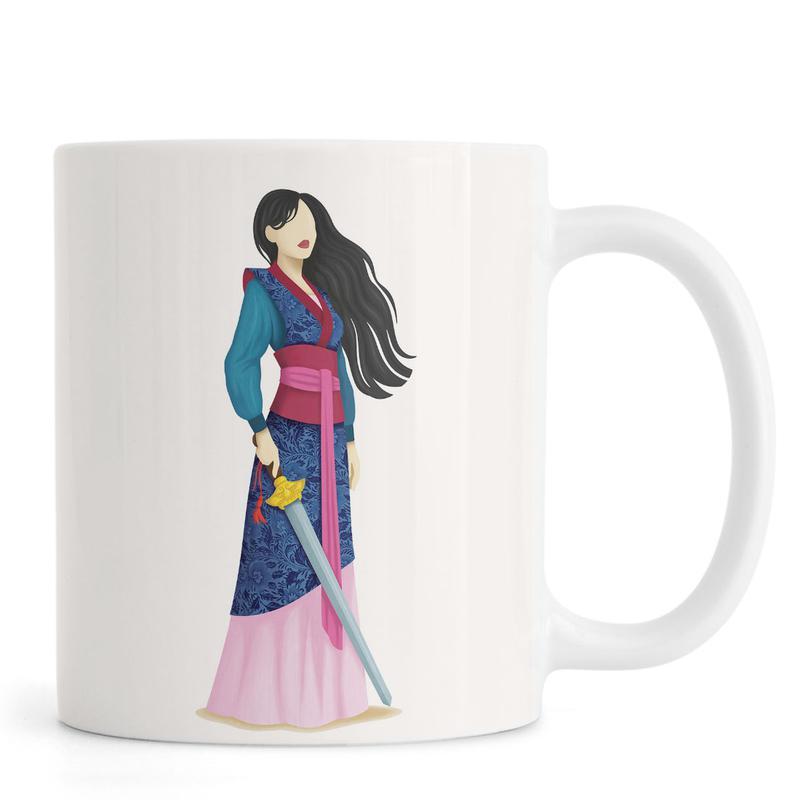 Portraits, Mulan mug
