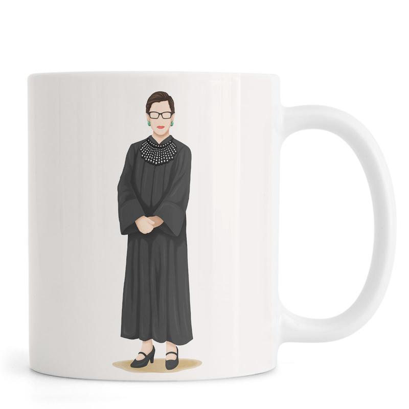 Portraits, Ruth Bader Ginsburg mug