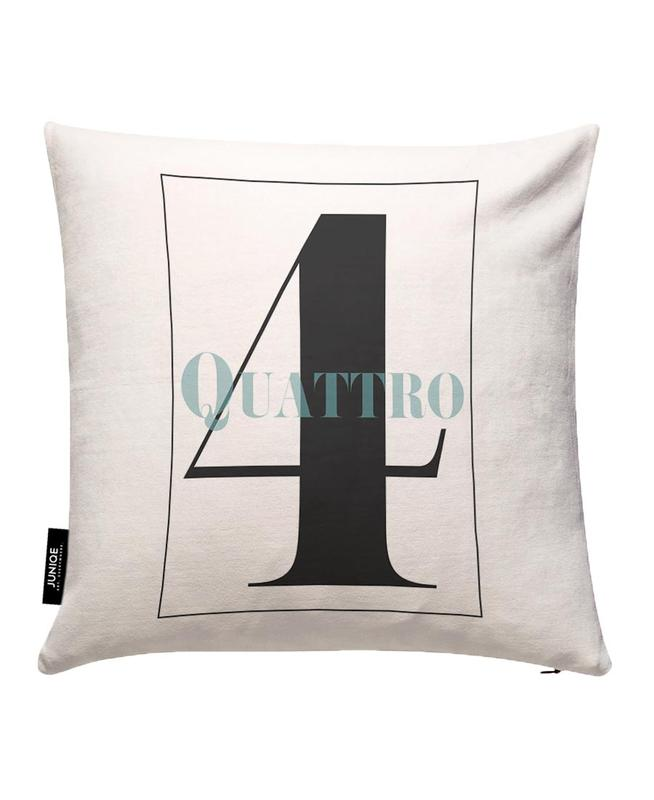 Numero 4 Cushion Cover
