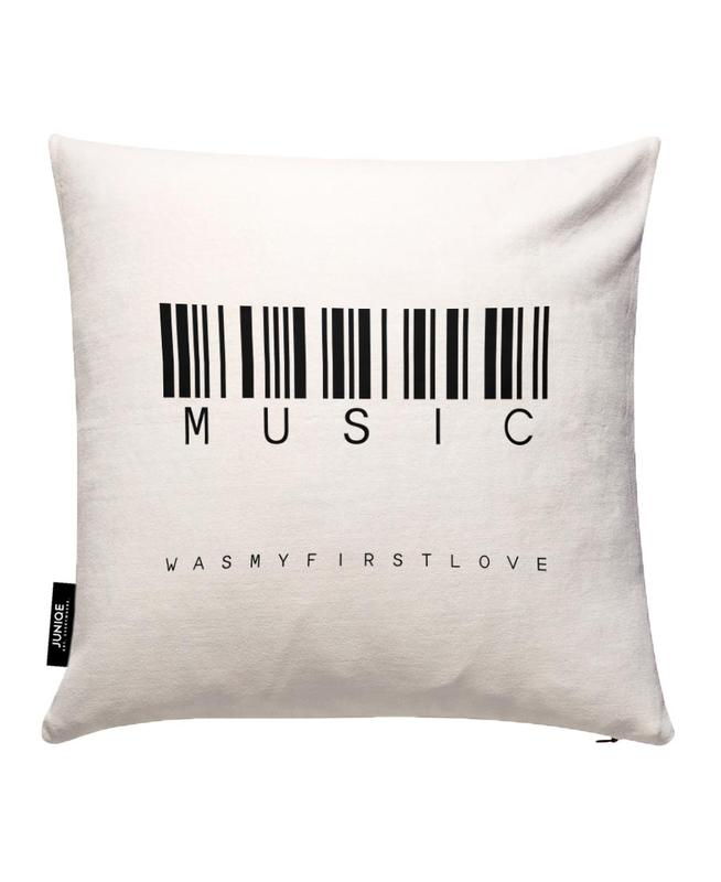 Barcode MUSIC Cushion Cover