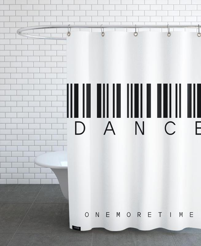 Barcode DANCE Shower Curtain