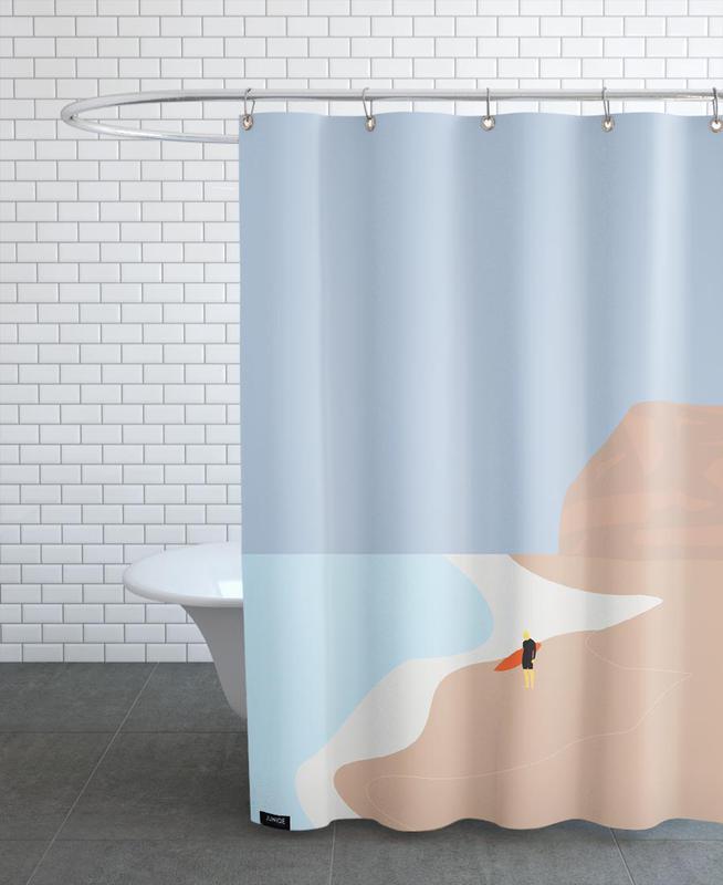 Fornøjelse Surf No. 01 Shower Curtain