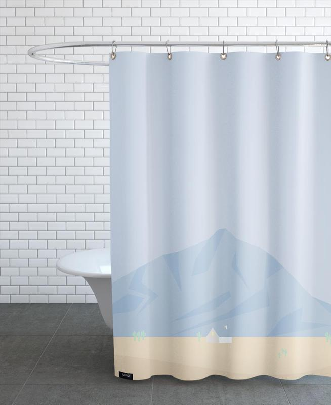 Mountains, Hus No. 3 Shower Curtain
