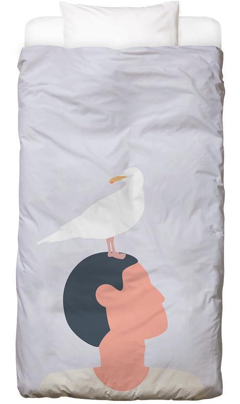 Mågefugle -Kinderbettwäsche