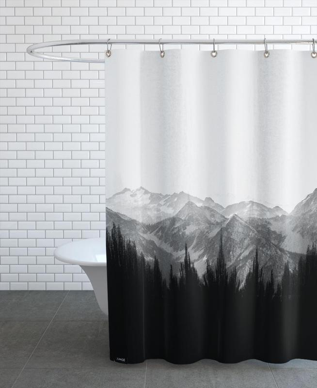 Brush Mountains Shower Curtain